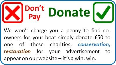 Don't pay - Donate!